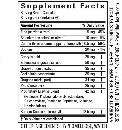 Intestinal Defense - Herbal Supplement with Enzymes