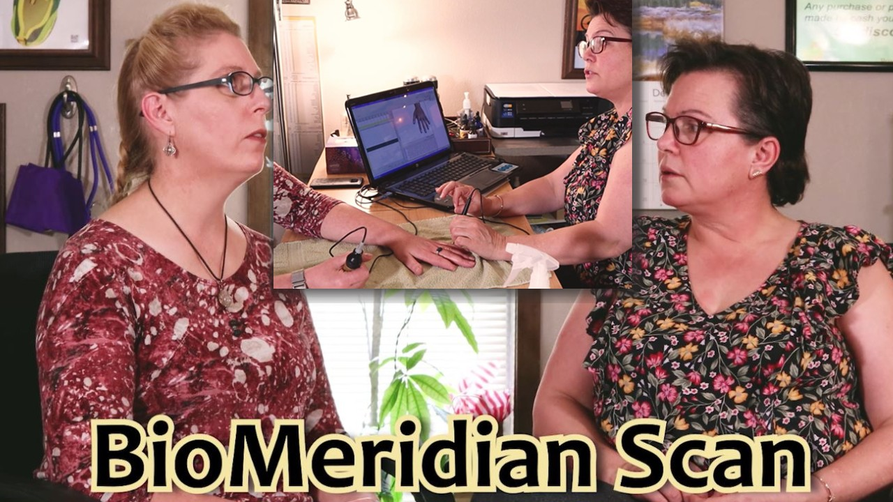 What is a Bio-Meridian Scan?