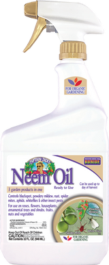 Neem Oil Fungicide, Miticide, & Insecticide Ready-To-Use - 32 oz