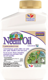 Neem Oil Fungicide, Miticide, & Insecticide Concentrate - 16 oz