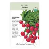 Rudolph Radish Seeds Organic