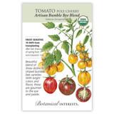 Artisan Bumble Bee Blend Pole Cherry Tomato Seeds Organic