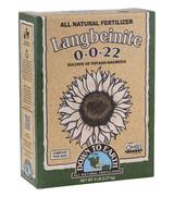 Down To Earth Langbeinite Fertilizer - 5 lb