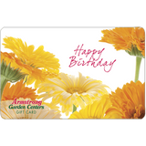 Birthday Gift Card by Mail