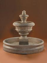 "Roma Fountain, Small with 46"" Basin"