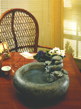 Serenity Table Top Fountain