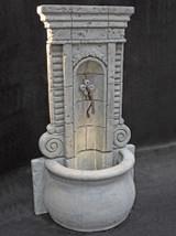 Champagne Wall Fountain, Tall