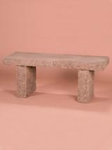 Granite Bench, 4'