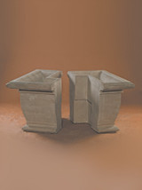 Arch. Square Plntr Post Set (2)