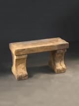 Weathered Stone Bench, Short
