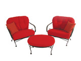Brantley 3 piece Seating Group - Red