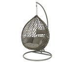Hanging Chair Montreal Grey with Grey Cushion