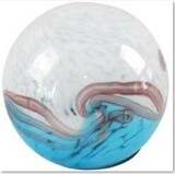 Solar Glass Orb Horizon - 7 inch