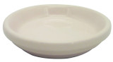 Glazed Ceramic Electric Saucer Coral - 4 inch