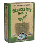 Down To Earth Starter Mix 3-3-3 Fertilizer - 5 lb