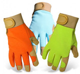 Boss® Ladies' Synthetic Leather Palm Spandex Flexible Back