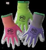 Boss® Kids Nitrile Green/Pink/Purple Gloves - Kids