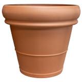 Terra Cotta Heavy Rimmed Pot - 24.5 inch