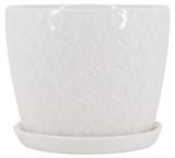 Glazed Ceramic Mateo Planter - 9 inch