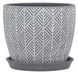 Glazed Ceramic Nolita Planter - 9 inch