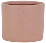 Glazed Ceramic Stoneware Planter Coral - 5 inch