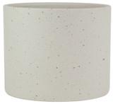 Glazed Ceramic Stoneware Planter White - 7.5 inch
