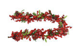 Berry, Pomegranate & Leaf Faux Garland
