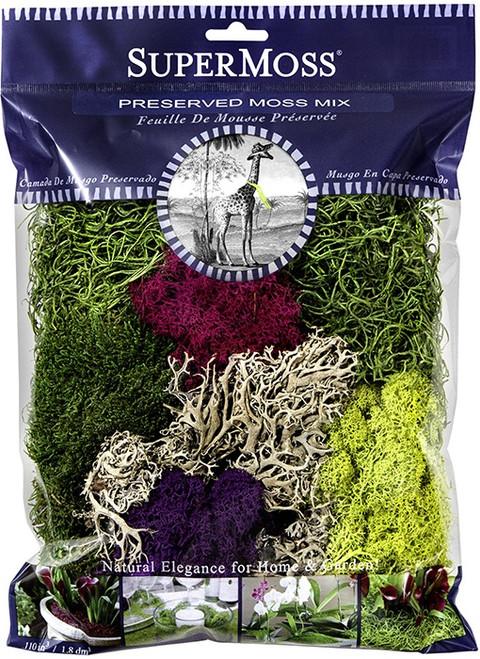 SuperMoss Moss Preserved Mix - 4oz