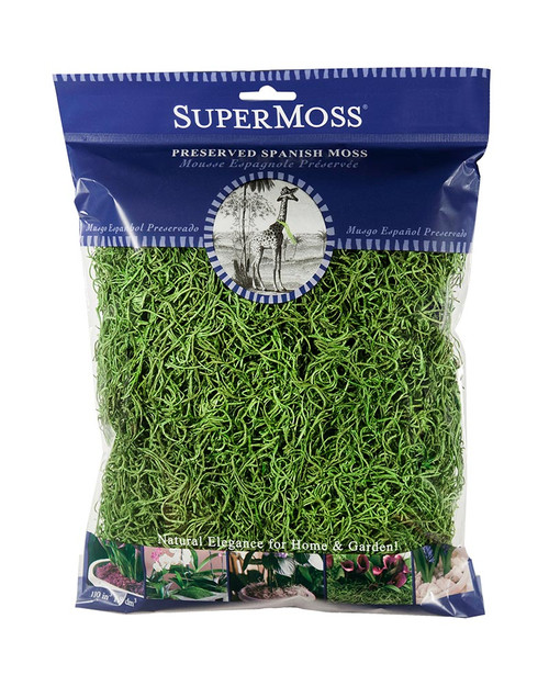 SuperMoss Spanish Moss Preserved Grass - 4oz