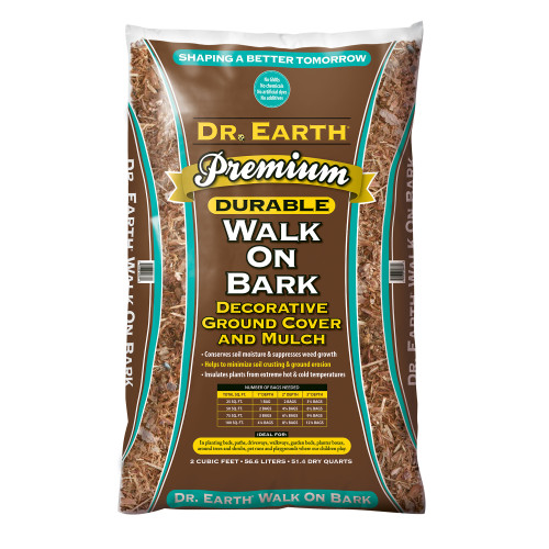 Dr. Earth Premium Walk On Bark - 2 cf