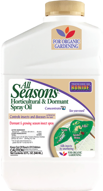 All Seasons® Horticultural Oil Concentrate - 32 oz