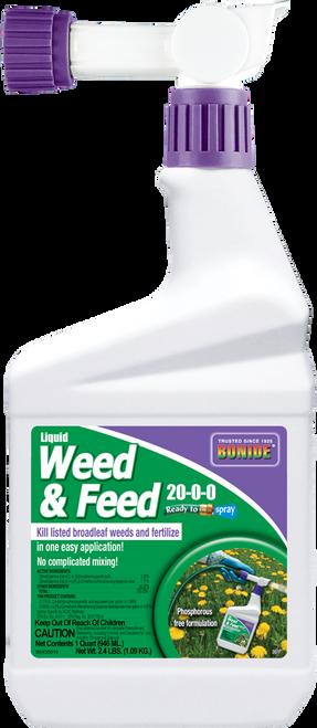 Liquid Weed -N- Feed 20-0-0 Ready-To-Spray - 32 oz