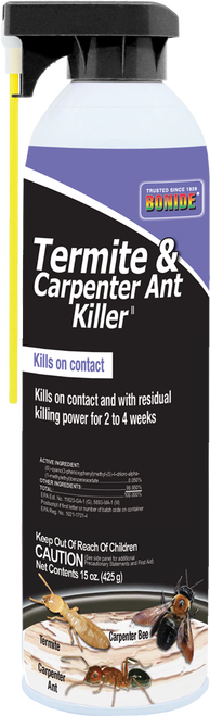 Termite & Carpenter Ant Killer Aerosol - 15 oz