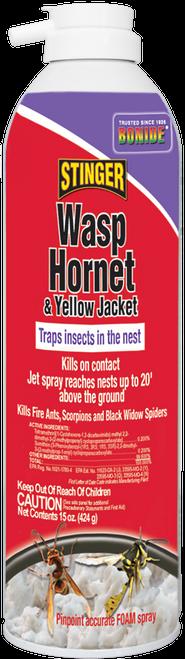 Stinger Wasp, Hornet, & Yellow Jacket Foam - 15 oz