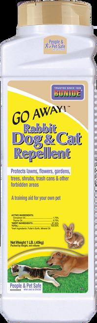 Go Away!® Rabbit, Dog, & Cat Repellent Granules - 1 lb