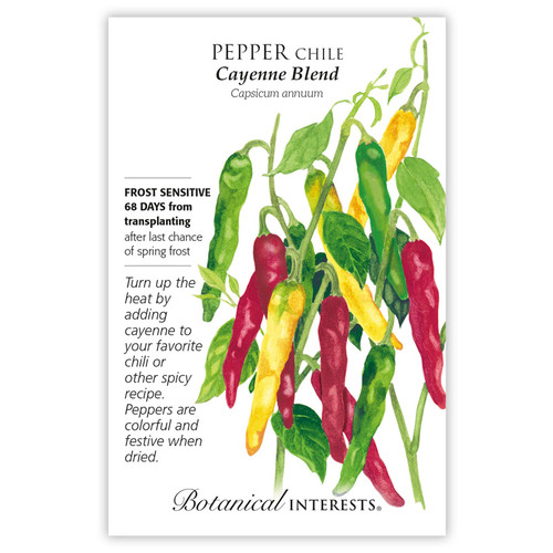 Cayenne Blend Chile Pepper Seeds