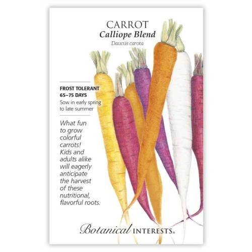 Calliope Blend Carrot Seeds
