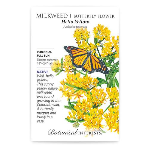 Hello Yellow Milkweed/Butterfly Flower Native