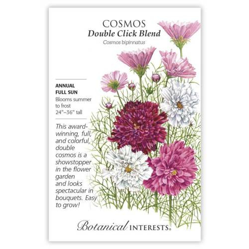 Double Click Blend Cosmos Seeds