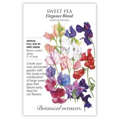 Elegance Blend Sweet Pea Seeds