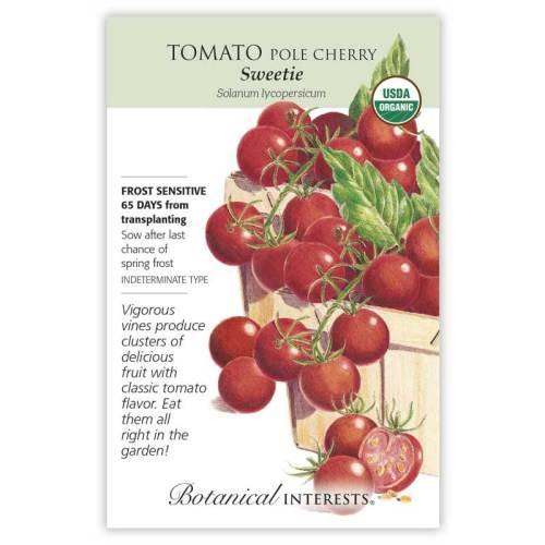Sweetie Pole Cherry Tomato Seeds Organic