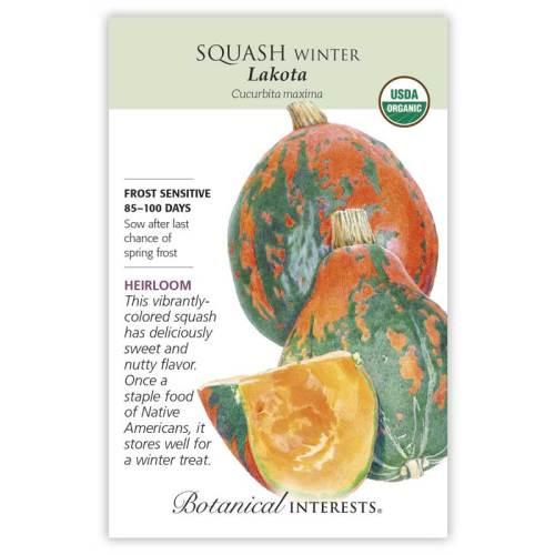 Lakota Winter Squash Seeds Organic Heirloom