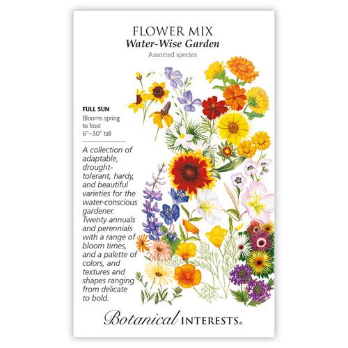 Water-Wise Garden Flower Mix Seeds