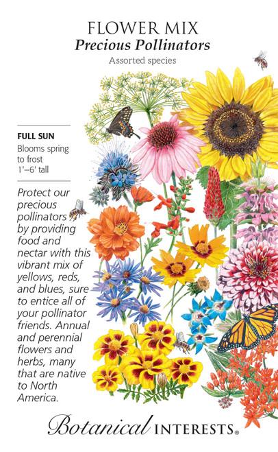 F Mix Precious Pollinators