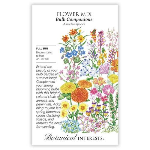 Bulb Companions Flower Mix Seed