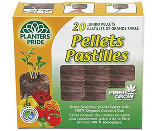 Fibergrow Coir Pellets - 20 pack