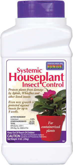 Systemic Houseplant Insect Control Granules - 8 oz