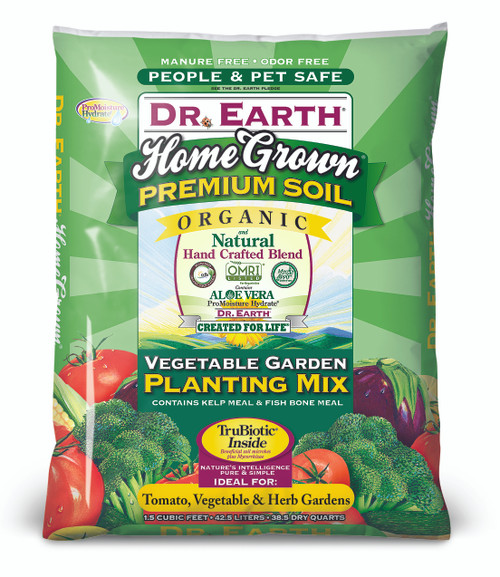Dr. Earth Home Grown Vegetable Planting Mix - 1.5 cf