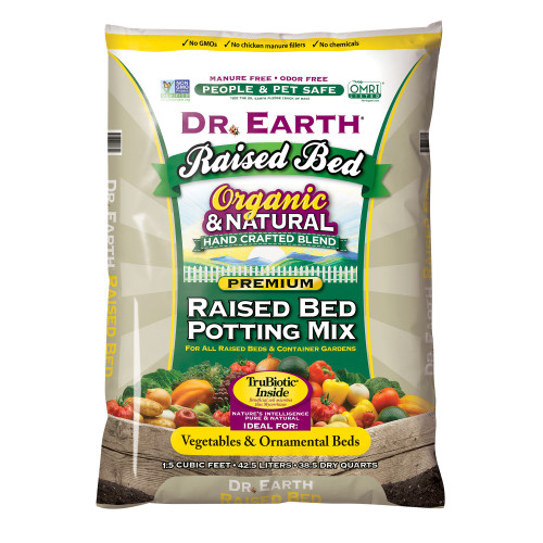 Dr. Earth Raised Bed Soil Mix - 1.5 cf