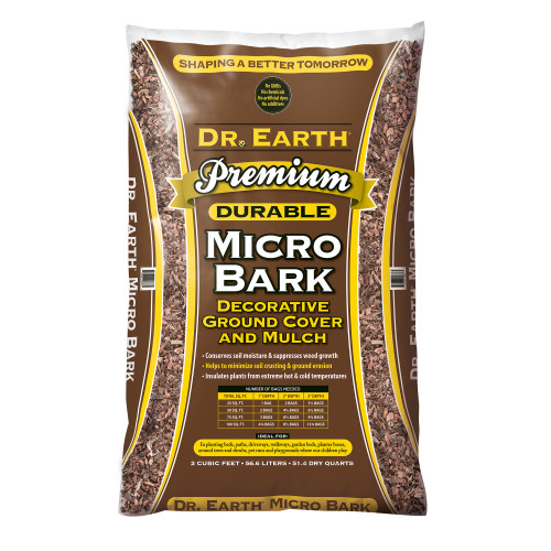 Dr. Earth Premium Micro Bark - 2.0 cf